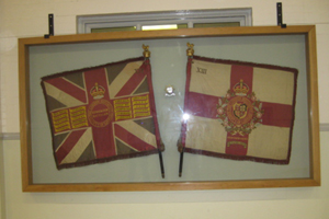 Colours of 13th (Country of London) Battalion The London Regiment (Kensington)