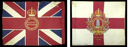 Colours of 10th (County of London) Battalion The London Regiment
